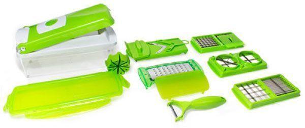 Coupe l gumes 24 99 et ses accessoires nicer - Coupe legumes nicer dicer plus ...