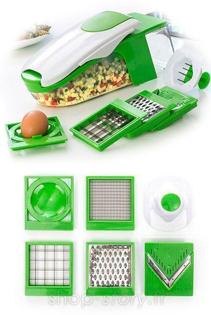 Découpe tout légume Coupe Légumes et ses Accessoires Nicer Dicer Fusion ALways Fresh Dicer Ultra Slicer Dicer Plus