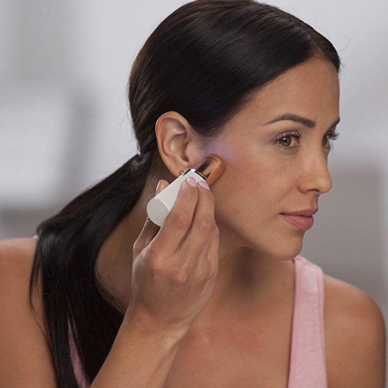 pilateur pour visage 12 99 sans douleur epilateur facial flawless. Black Bedroom Furniture Sets. Home Design Ideas