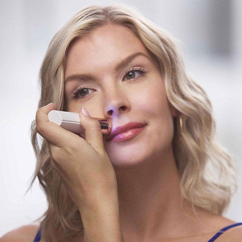 Yes Épilateur Facial pour Éppiler Visage sans Douleur Flawless Velform Smooth Stick Zéro défaut Groupon