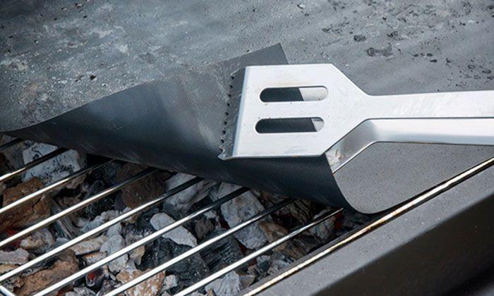 Feuille de Cuisson Antiadhésive et Réutilisable pour Barbecue Groupon