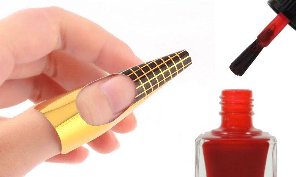 Guides Protecteurs Spécial Pose Vernis pour une Manucure Parfaite, GROUPON