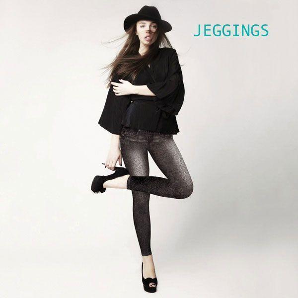 SLIM JEGGINS Vintage Pantalons Femme Sexy Jean Leggins Moulant Couleur Noir annoncé en tv, magasin par télévision, vu en tv, tv, télé-achat Groupon Lot pour Loto