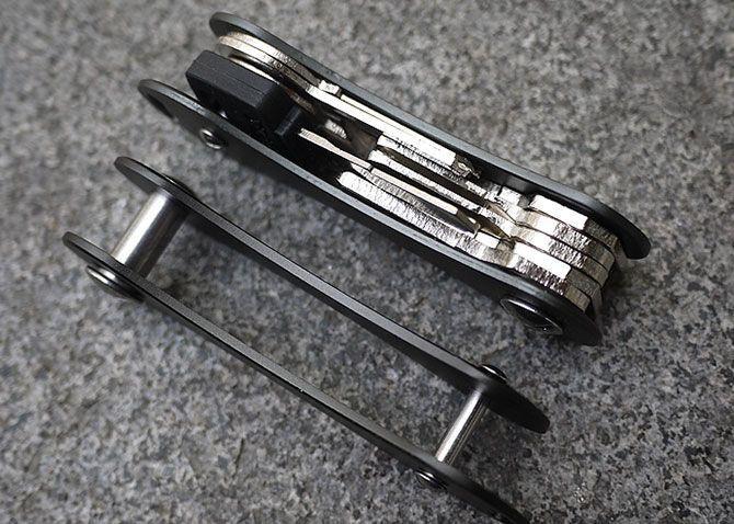 KeySmart Porte-Clé Intelligent Organisateur De Clés Compact Pour Trousseau à Clef En Aluminium Groupon Lot pour Loto