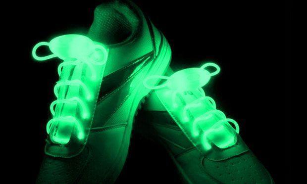 Lacets lumineux à LED ColorLight Groupon Lot pour Loto
