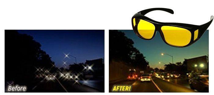 lunettes vision hd nocturne 6 99 pour conduite en toute s curit. Black Bedroom Furniture Sets. Home Design Ideas