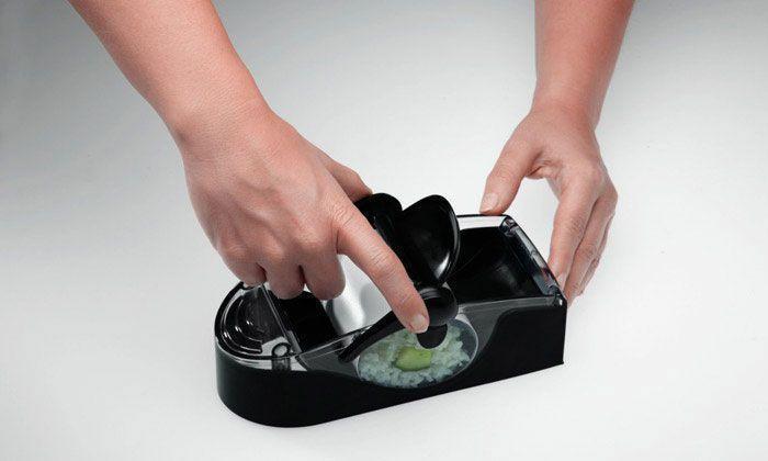 Machines À Sushi - Makis - Rouleau De Printemps Sushi Maker Leifheit Perfect Roll vu à la télé Groupon Lot pour Loto