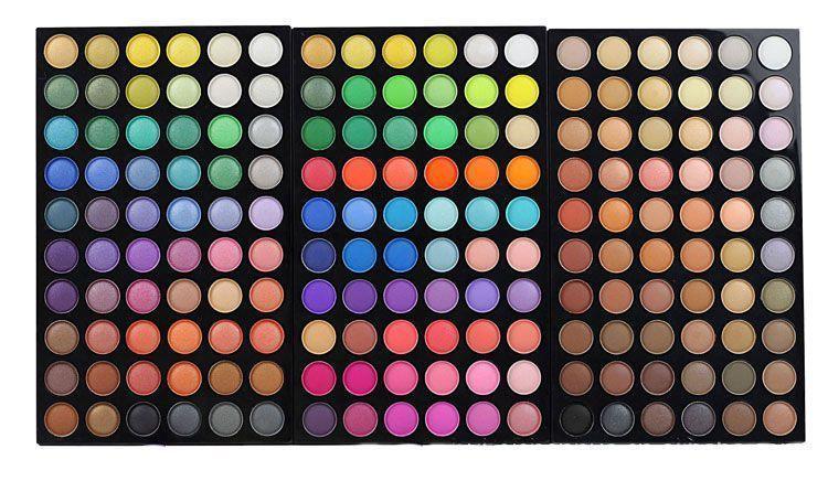 Makeup Coffret de 3 Palettes de Maquillage Parfait de 180 couleurs Groupon Lot pour Loto