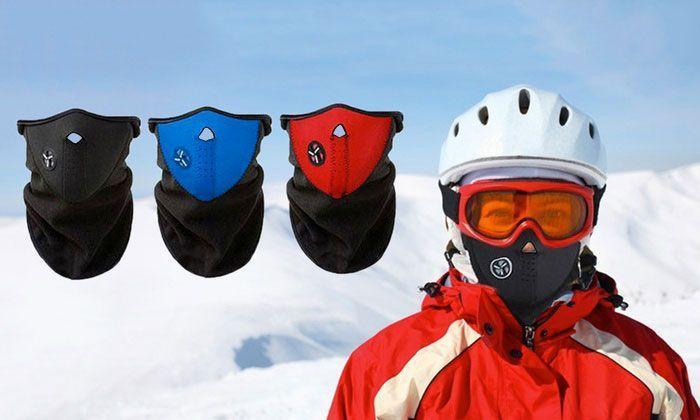 Masque Polaire Anti-Froid Protection du Visage Contre Vent pour Ski Moto Vélo Sport d'Extérieur Outdoor annoncé en tv, magasin par télévision, vu en tv, tv, télé-achat, Groupon Lot pour Loto