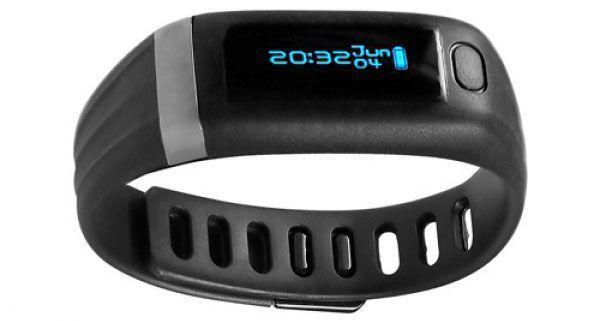 Montre Bracelet Connecté Bluetooth Garmin Vivofit Pas Cher Pour Iphone et Android Avec Bracelet Flexible Pour Le Sport