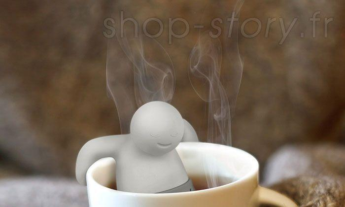 Mr. Tea - Infuseur de Thé et Tisane Filtre Infusion Groupon Lot pour Loto