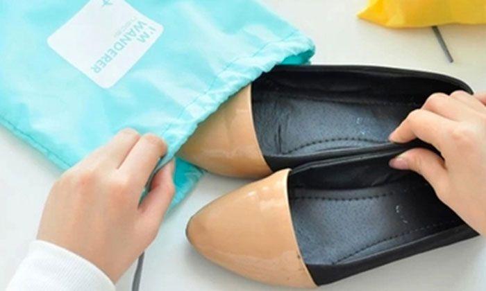 Organisateurs de Valise Etanche pour Chaussures Sous-Vetements
