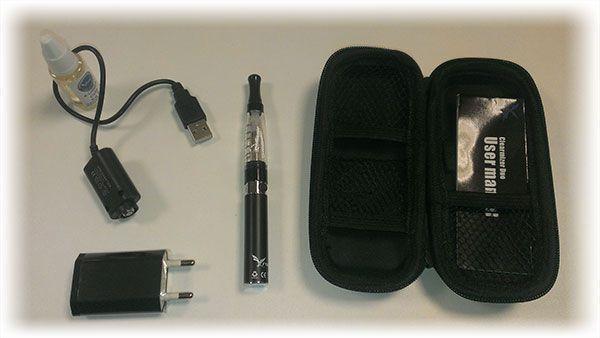 Pack Complet de Cigarette Electronique Avec Liquide Offert