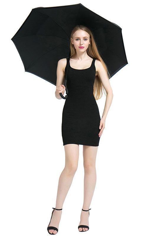 Parapluie à Fermeture Inversée GROUPON