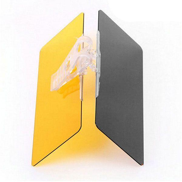 Pare soleil antireflet eblouissement jour nuit clear protect x clip shield neuf ebay - Pare soleil voiture sur mesure ...