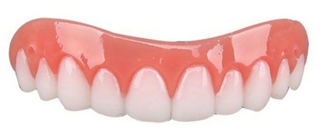 Dent de remplacement Perfect Smile réutilisable et amovible, pose instantanée Design GROUPON