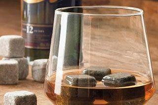 Séchoir à linge chauffant Pierres À Whisky - Glaçons En Pierre Pour Rafraichir Sans Diluer Champagne Pastis Vodka Gin Groupon Lot pour Loto