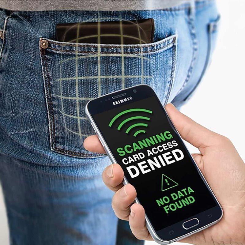 Pochette de Protection Anti-RFID pour Cartes Bancaires, annoncé en tv, magasin par télévision, vu en tv, tv, télé-achat Groupon Lot pour Loto