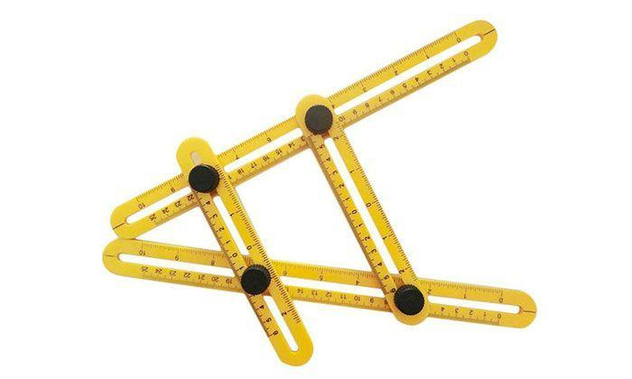 Regle Angle Pliable Multifonction de Mesure Multi Angles GROUPON