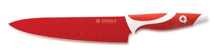 Set De 5 Couteaux De Cuisine En Inox Colorés Recouverts De Céramique Avec Économe Swiss Q Amazing Cut Groupon Lot pour Loto