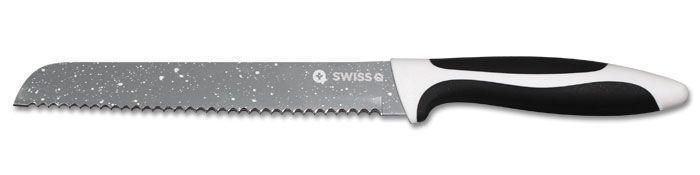 Set De 5 Couteaux De Cuisine En Inox Revêtement Pierre Avec Économe Swiss Q Amazing Cut Groupon Lot pour Loto