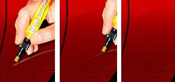 Crayon Stylo Anti-Rayures SMART PEN pour Carrosserie de Voiture Moto FIX IT PRO