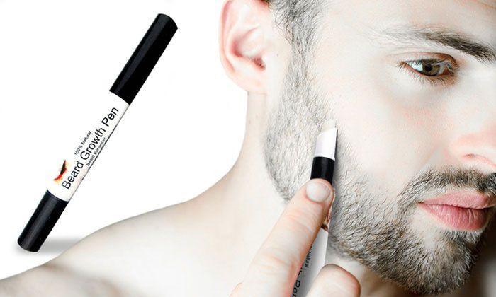 Stylo de Croissance Barbe et Moustache GROUPON