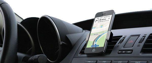 AirFrame Kenu Support Universel Réglable Et Rotatif De Voiture Pour Smartphone Ajustable Sur Grille De Ventilation Auto