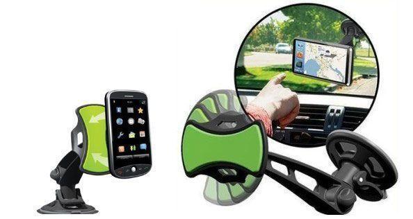 Grip Go Catch Go Support universel de voiture pour smartphone, tablette et GPS