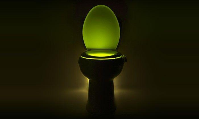 Veilleuse led 6 99 cuvette toilette wc d tecteur mouvement - Veilleuse pour salon ...