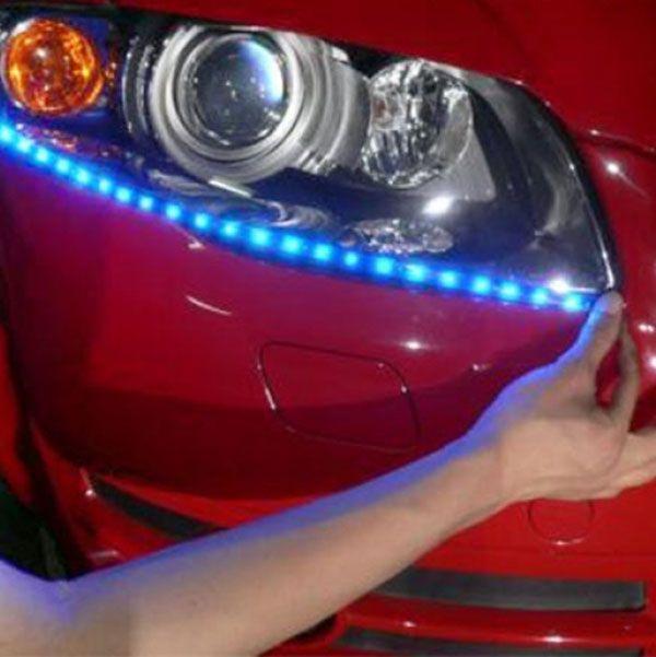 Rouleau de lumière LED multi-couleur de 5 mètres