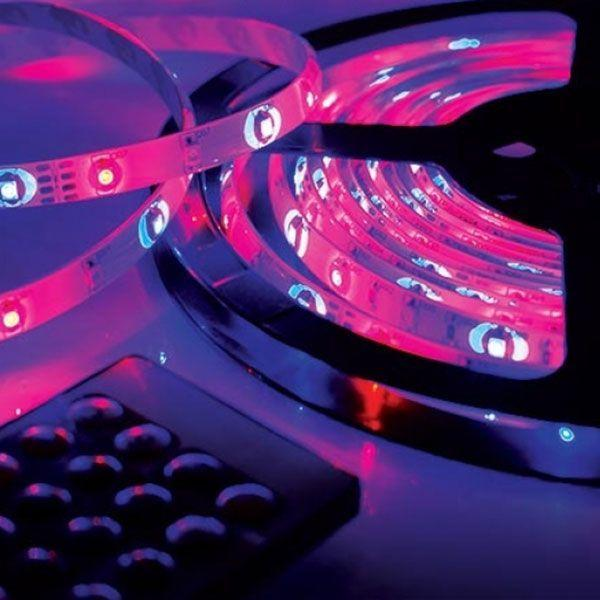 LED light multi-colored roll of 5 meters