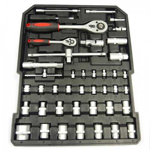 Quatrieme étage de la Caisse à outils de 186 pièces Groupon Lot pour Loto