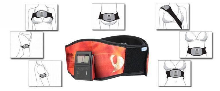 Ceinture de Musculation pour Abdominaux Eléctro Stimulation - TOTAL STIM - ABDO KING Ceinture Express X2 Power Fitness Ceinture abdominale Beurer