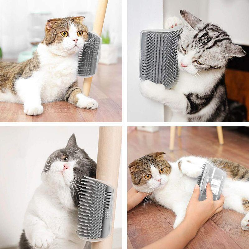 groomer-brosse-angle-massage-toilettage-animaux-chat