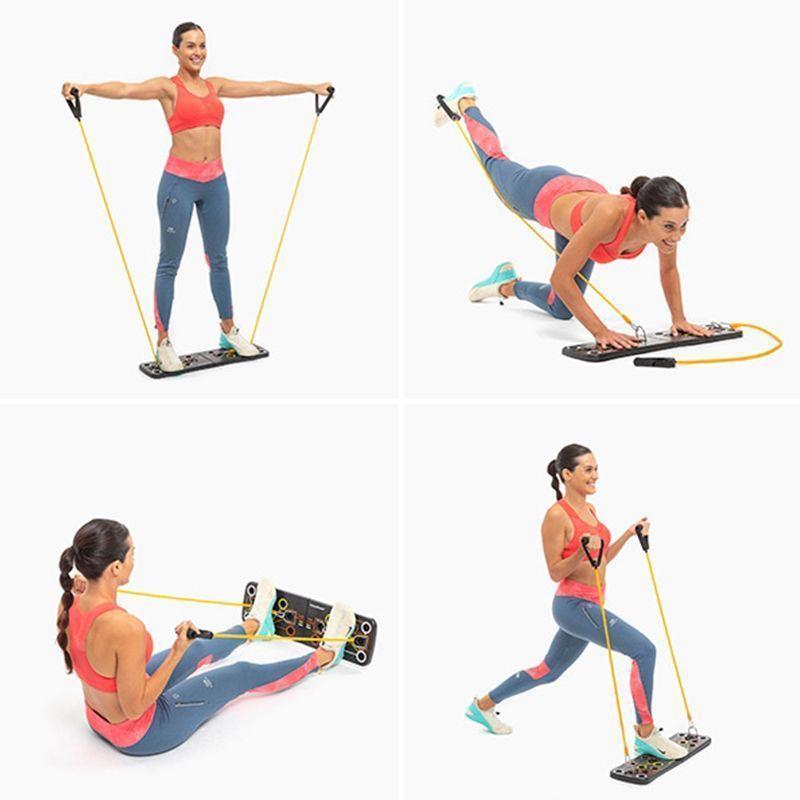 Pulsher-système-entraînement-bandes-résistance-guide-pompe-musculation-fitness