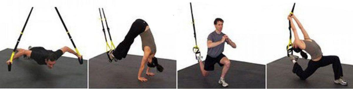 Tendeurs pour Exercices en Suspension TRX Suspension Training