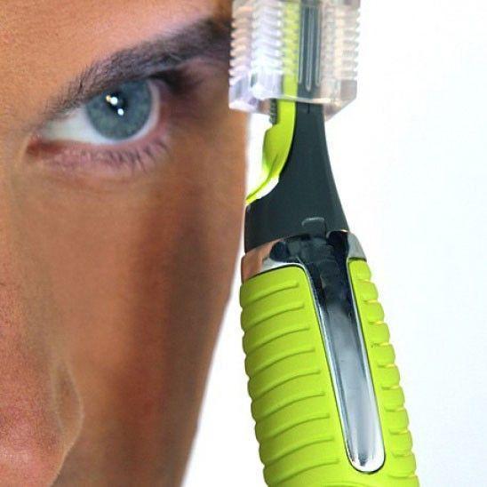 Tondeuse de précision pour poils de nez, oreilles, sourcils, nuque et autres MASTER SHAVE